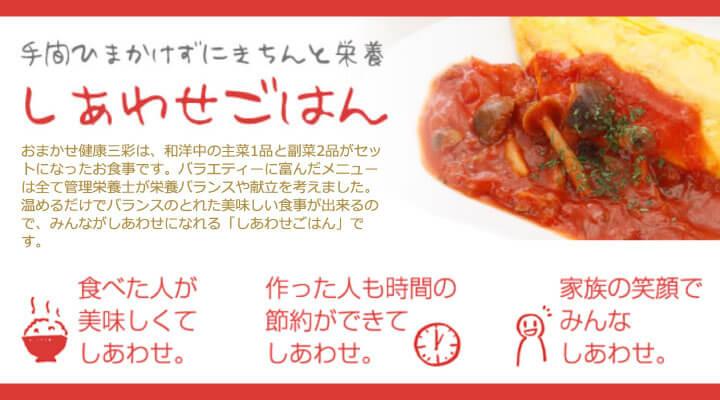おまかせ健康三彩のイメージ画像